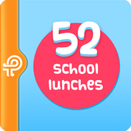 52 School Lunches