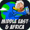 Amazing Geography Game - Middle East & Africa. Making learning geography fun!