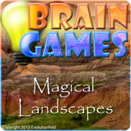 Magical Landscapes - Brain Twister Puzzles