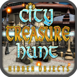 City Treasure Hunt Hidden Objects Quest Game