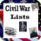 U.S. History Lists (Civil War)