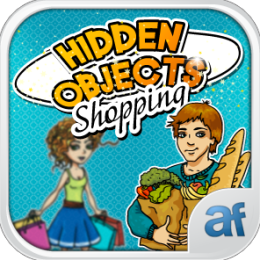 Hidden Objects Shopping & 3 puzzle games