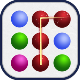 CIRCLES - Connect 3+ for NOOK - Compare to Dots / Loops / Paths Games