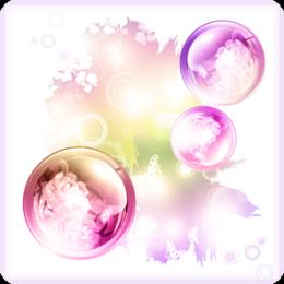 Bubble Garden HD Live Wallpaper