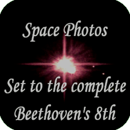MusicAlbum - (Space Photos set to the Complete Beethoven Symphony No. 8 in F Major, Op. 93)