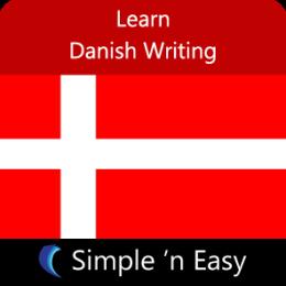 Learn Danish Writing by WAGmob