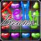 Jelly Beans Candy Craze II - Legends Match (3) Three Game