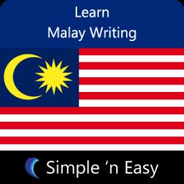 Learn Malay Writing by WAGmob