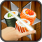 Ninja Sushi Swipe Match 3 Puzzle Game
