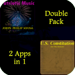 U.S. Patriot Collection (The Founding Documents Audio Book + Full Album Patriotic Music)