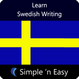 Learn Swedish Writing by WAGmob