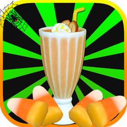 Spooky Halloween Milkshake - Fun Cooking Game for Kids