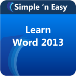 Learn Word 2013 by WAGmob