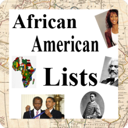African American Lists