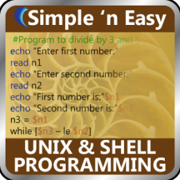 UNIX and Shell Programming by WAGmob