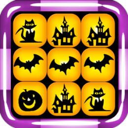 Halloween Match-3 Tiles