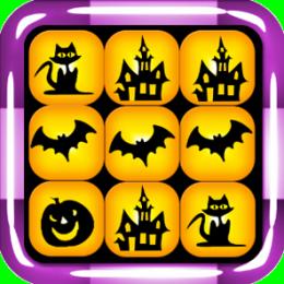 Halloween Match-3 Tiles
