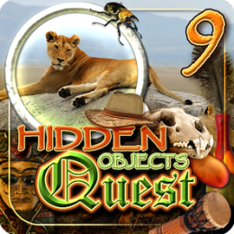 Hidden Objects Quest 9: African Safari