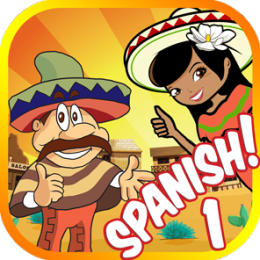 Learn Spanish Words 1: Vocabulary Lessons Flash Cards Game for Beginners