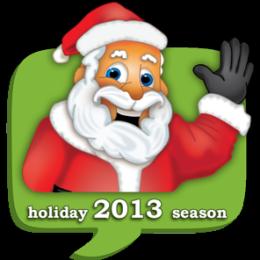 Texting With Santa 2013