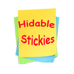 Hideable Stickies
