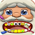 Product Image. Title: Santa Dentist Office Salon Makeover Game - Fun Christmas Holiday Games for Kids, Girls, Boys