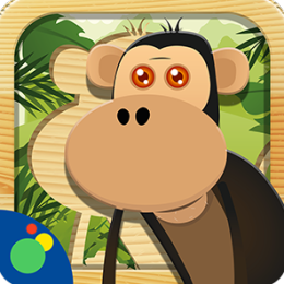 Jungle Animal Puzzle - fun animal games for toddlers, preschool and kids