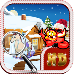 Christmas Tale- A Fathers Gift - Hidden Object