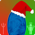 Product Image. Title: Santa's Naughty or Nice Christmas Fingerprint Scanner