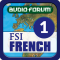 FSI: French Basic Course Part A (Level 1) - by Audio-Forum / Foreign Service Institute