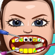Product Image. Title: Celebrity Pop Stars Dentist Office Flappy Dress Up Game - Fun Bird Makeup Game for Kids, Girls, Boys