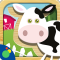 Farm Animal Puzzles - fun animal games for toddlers, preschool and kids