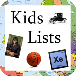 Great Lists for Smart Kids!
