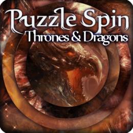 PuzzleSpin - Thrones and Dragons