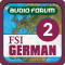 FSI: German Basic Course Vol. 2 (Level 2) - by Audio-Forum / Foreign Service Institute