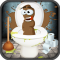 Whack A Poo Toilet Fart Attack Game