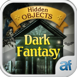 Hidden Objects Dark Fantasy & 3 puzzle games