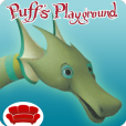 Product Image. Title: Puff, the Magic Dragon's Playground - Delightful Children's Creativity Center, Jigsaw Puzzles, Games