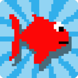 Flappy Fish Game - The Adventure of a Bird in Water