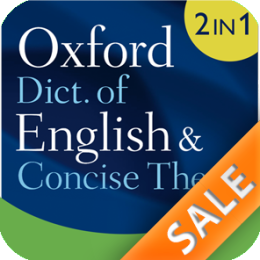 Oxford Dictionary of English and Thesaurus