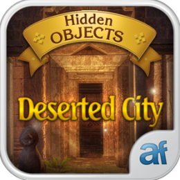 Hidden Objects Deserted City & 3 puzzle games