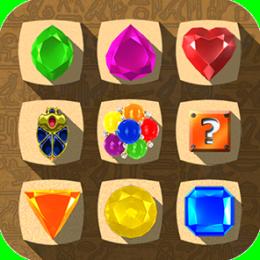 Jewel Drops - Match three puzzle
