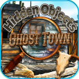 Product Image. Title: Hidden Objects - Haunted Ghost Town
