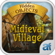 Product Image. Title: Hidden Objects Medieval Village & 3 puzzle games
