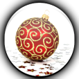 Product Image. Title: Christmas Ornament Wallpaper Pro