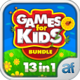 Product Image. Title: Games for Kids and Toddlers Bundle 13 in 1