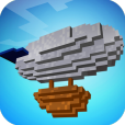 Product Image. Title: Blockheads Airship 3D