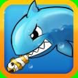 Product Image. Title: Shark vs Fish