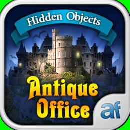 Hidden Objects Antique Office