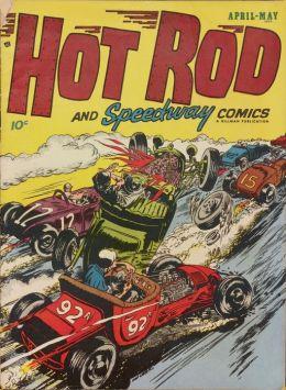 Hot Rod and Speedway Comics Number 5 Car Comic Book